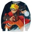 Anime Naruto sasuke print 3d cartoon sweatshirt men women unisex hoodies harajuku sweats jacket plus size S-XXL Drop Shipping