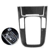 1 PC Automotive Car Carbon Fiber Durable Styling Decorative Gear Shift Panel Sticker Decal for Audi Q5 A4L A5
