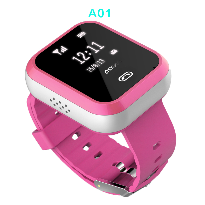 2017 GPS Tracker Watch for children_M01, GPS, WIFI, LBS location,  850, 900,1800, 1900 MHz, Use Apps for easier tracking.