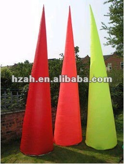 colorful inflatable lighting cone for party decoration popupshop шорты popupshop модель 2625475