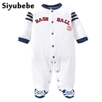 Baby Rompers Fashion Brand Newborn Baby Boy Clothes 100 Cotton Long Sleeve Ropa Bebe Infant Boy