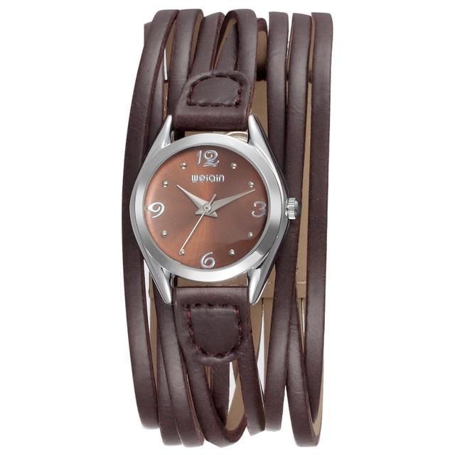New Fashion 2017 Women Bracelet Watches Wide Strap Ladies Quartz Clock Casual Le