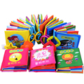 Baby Toys Hot New Infant Kids Early Development Cloth Books Learning Education Unfolding Activity 0~12 Months Toddler Anti-Tear