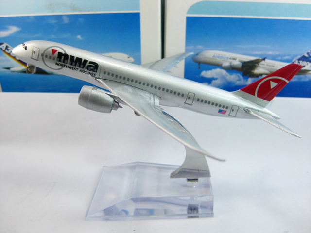Northwest Airlines B787 Civil Aviation model,16CM, Aircraft model,plane model
