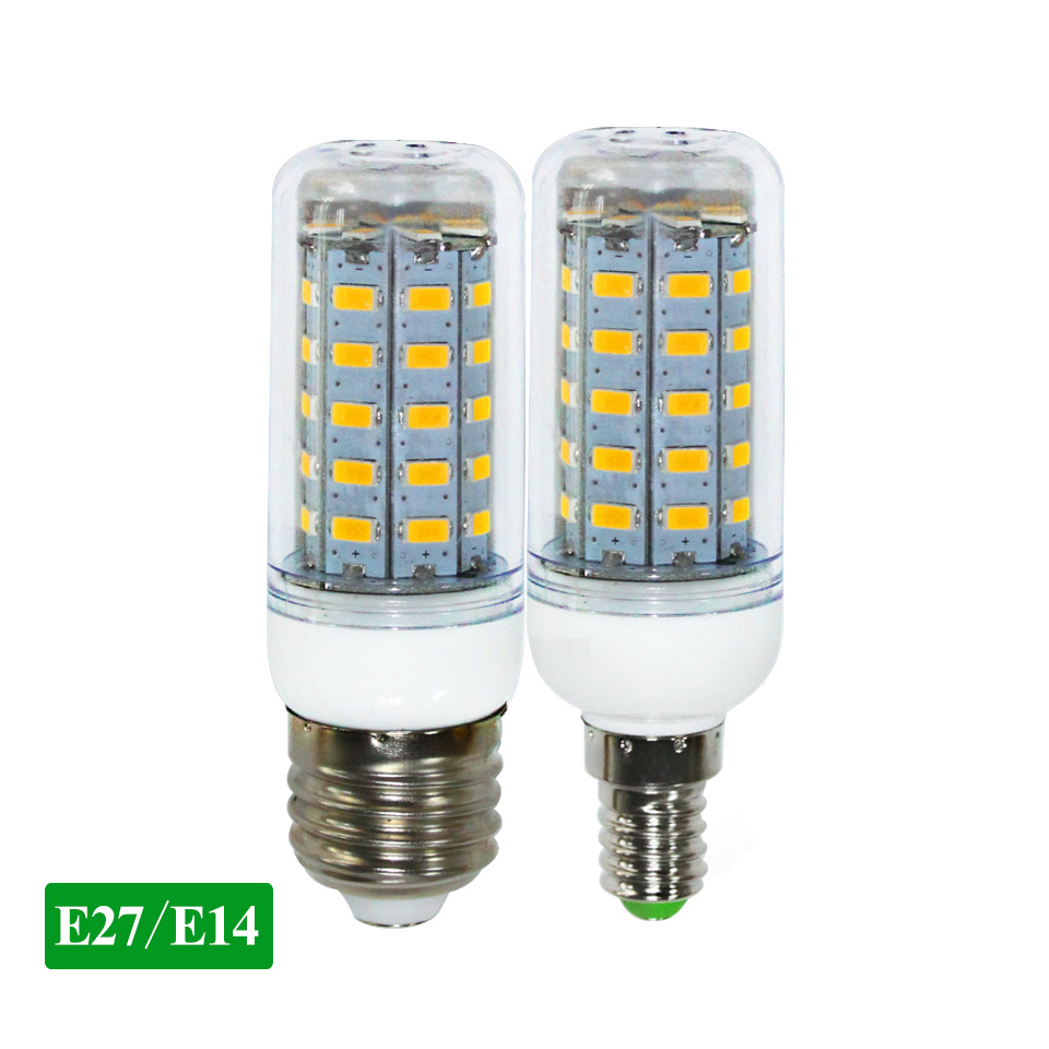E27 E14 Led-lampe Licht Lampe 5730 220V 24 36 48 56 69leds LED Mais Birne lampada Hause led Kronleuchter Kerze lampen Innen Beleuchtung