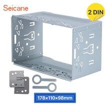 Seicane Doppio Din Autoradio Fascia per Universale del Precipitare di Installazione Pannello di Montaggio Trim kit Per Auto Kit di Montaggio Lettore DVD stereo