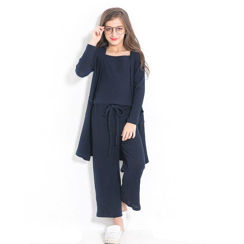 High Quality Teen Girls Clothing Sets 2018 New Fashion ...