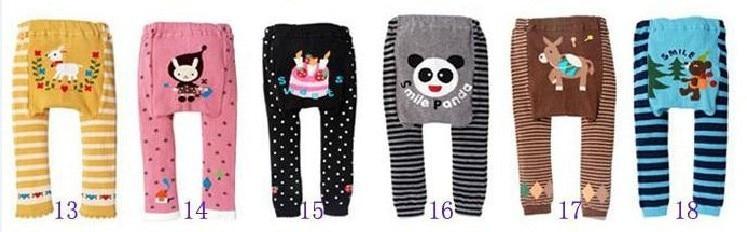 Акция, 18 шт. в партии, популярные детские штаны на подгузник, 36 цветов Штаны для мальчиков и девочек детские леггинсы - Цвет: Group C 13 to 18