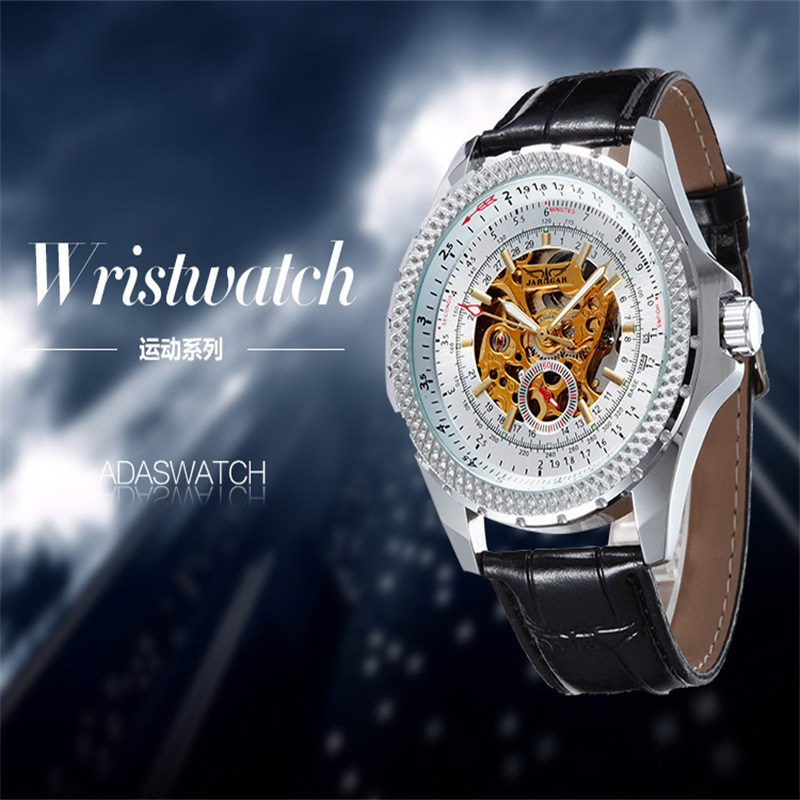 New Fashion Sport Hot Gold Core Fully Mechanical Clock Wristwatches Fashion Watches For Both Men And Women Free Shipping rakesh kumar and shashank singh mechanical cultivation of rice under puddle and unpuddle condition