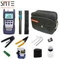 12 pz/set In Fibra Ottica FTTH Tool Kit con SKL-8A In Fibra di Mannaia e Misuratore di Potenza Ottica 5 km di Visual Fault Locator wire stripper