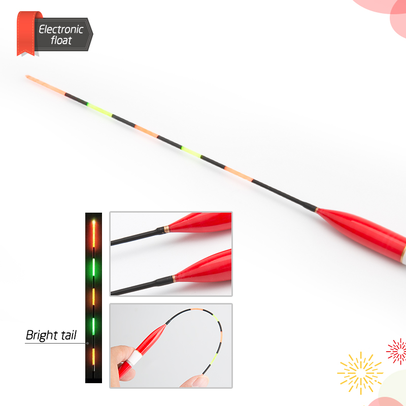 float Fishing Float LED Electric Float Light Fishing Tackle Luminous Electronic Float without battery (15)