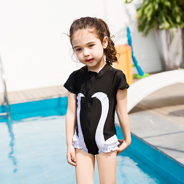 578b7606e1 Child Swimwear Piece Boys Girls Swimsuits Kids Bathing Suits Baby Swimsuit  Girl Children Beach Wear Diving Swimming Suit