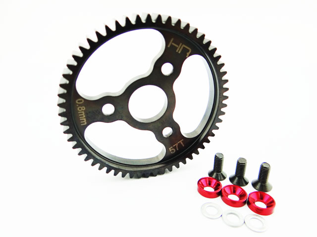 Hot Racing 57T Spur Gear for Traxxas Summit Revo E-Revo Jato T-Maxx 2.5R and 3.3 hot racing traxxas e revo e revo summit aluminum front body mount