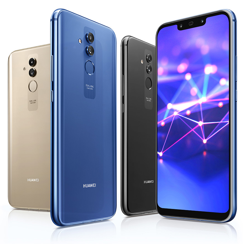 Huawei Mate 20 Lite Maimang 7 6GB 64GB Global Rom téléphone Mobile 6.3 pouces Kirin 710 Octa Core 9 V/2A Charge rapide Android 8.1 - 4