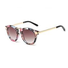 Letnie okulary przeciwsłoneczne damskie kocie oko dizajnerskie okulary okulary na każdą okazję tanie tanio NoEnName_Null WOMEN Gogle Dla dorosłych Stop UV400 other Z tworzywa sztucznego YJ0714-01 50mm