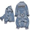 Purpose Tour Jacket Light Blue Denim Jacket Turn-Down Collar Single Breasted Man's Motorcycle Jacket Justin Bieber Clothes