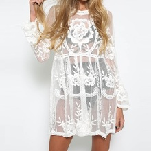 433b0f767c537 Buy dress with transparent lace and get free shipping on AliExpress.com
