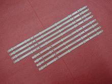 جديد 8 قطعة/المجموعة LED شريط إضاءة خلفي لسامسونج UE46H5373 UE46H6203 UN46FH6030F D3GE 460SMA R2 D3GE 460SMB R1 2013SVS46 3228N1