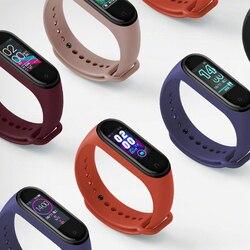 Wersja globalna opcjonalne oryginalne Xiao mi mi Band 4 inteligentna bransoletka tętno Fitness 135mAh kolorowy ekran Bluetooth5.0 wodoodporna 5
