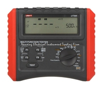 UNI T UT595 Multifunction Loop Testers Earth Ground Line Loop Impedance Tester Insulation Resistance Meter w/RCD Protection