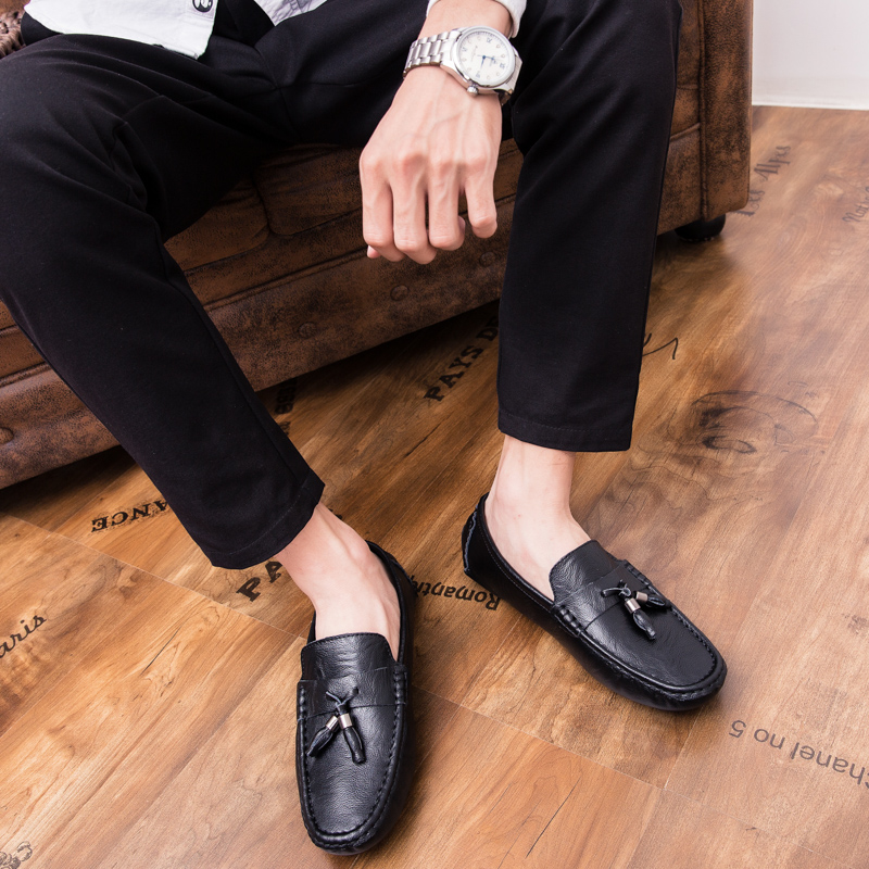 Men Loafers Shoes outdoor Italy Oxfords Business Dress Boat Shoes Formal Oxford Men Flat Shoes Wedding party shoes p4 36