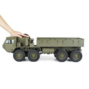 Rc-Car Military-Truck Us-Army 1:12 P801 P802 8X8 M983 HG 739mm 18-Km/H Battery-Charger