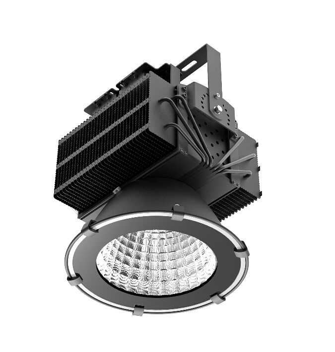 2016 New 300w Cree XBD led tower crane lamp for construction lighting with innovative copper heat pipe+patent zipped fins