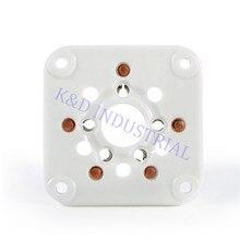 4pcs 5Pin 3-500Z 4-400 U5G Base Ceramic Tube Socket For Amp Parts
