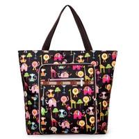 Fold Women Handbag Casual Large Shoulder Bag Fashion Nylon Big Capacity Tote Luxury Brand Design Purple