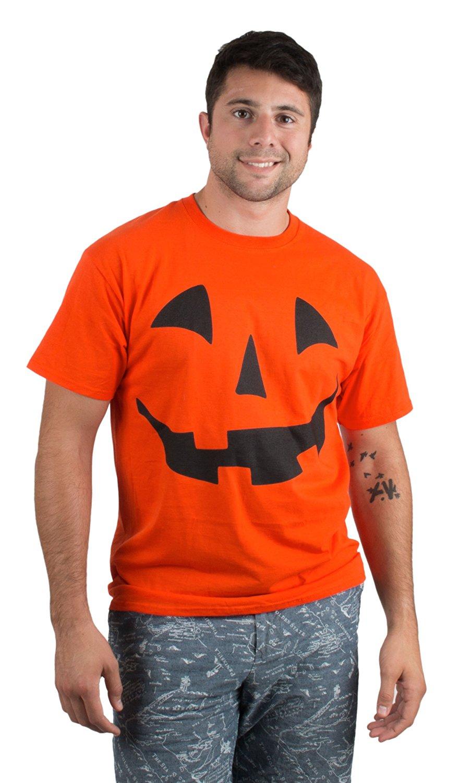 Giant Jack O Lantern Face  Halloween Pumpkin Fun Unisex T-shirt for Men Women