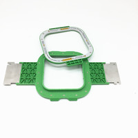 Embroidery Spare Parts SWF mighty hoop size 5.5 x 5.5 inch total length 395mm SWF magnet frames swf magnetic hoops
