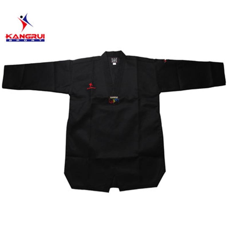 Poomsae Taekwondo Uniform kleurrijke rood blauw zwart coach dobok - Sportkleding en accessoires - Foto 5