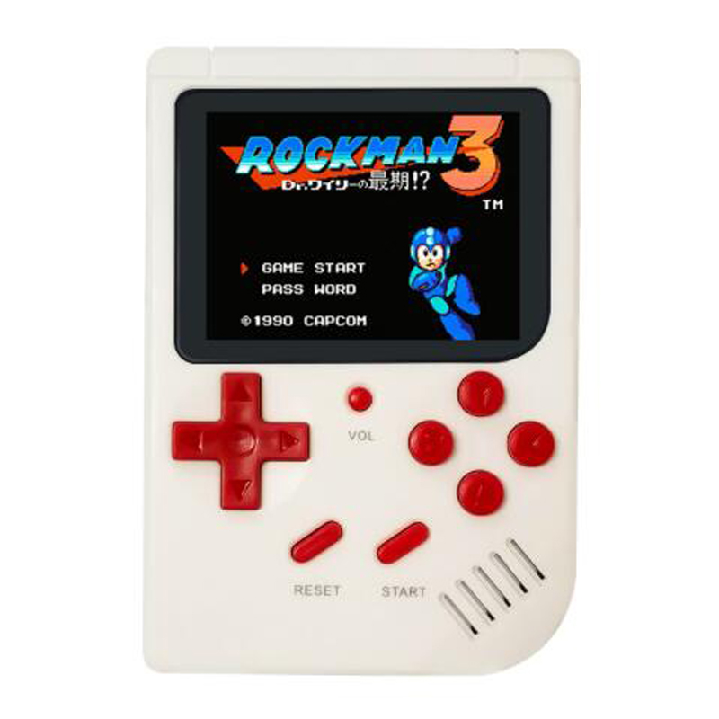 Retro Portable Mini Handheld Game Console  2.0 Inch Color LCD Kids Color Game Player Built-in 188 Games