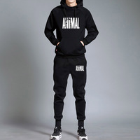 ANIMAL Sport Suit Hoodie Batman Hooded Men Casual Cotton Fall / Winter Warm Sweatshirts Men's Casual Tracksuit Costume