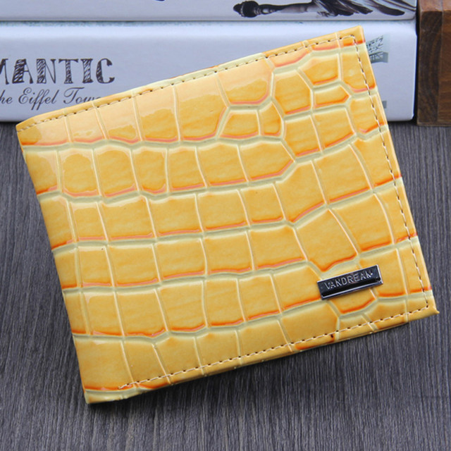 wallets ladies carteira feminina colorful leather visiting card holder fashion women Wallet  ID Credit Card Holder Purse short