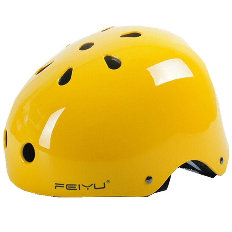цена на Universal Skiing Helmet ABS+EPS Skateboard Hip-hop Roller Extreme Sports Helmet Head Protect Skating Climbing Safety Helmets