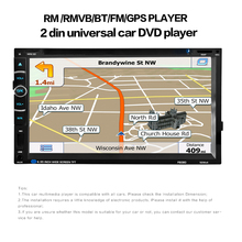 2 DIN Car Radio Multimedia Video Player Navigation GPS Android UNIVERSAL CAR DVD PLAYER RM mp3 mp4 mp5 player BLUETOOTH USB 262 bluetooth v3 0 car dvd player