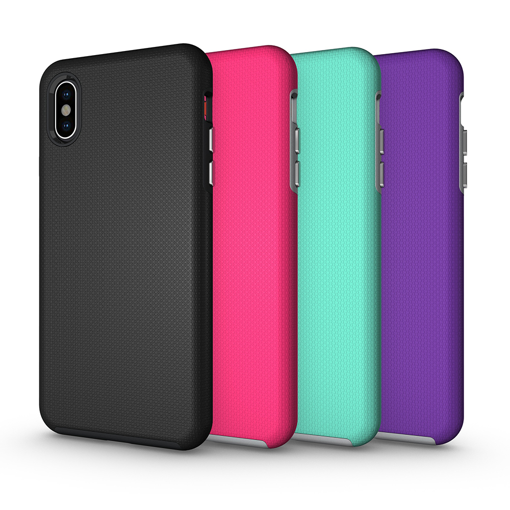 <font><b>for</b></font> <font><b>iPhone</b></font> 11 Pro <font><b>Max</b></font> <font><b>X</b></font> <font><b>XS</b></font> <font><b>Case</b></font> <font><b>Armor</b></font> TPU+PC Dual Layers ShockProof Phone <font><b>Case</b></font> XR 5s 6S 6 7 8 Plus Rugged Strong Non-Slip Cover image