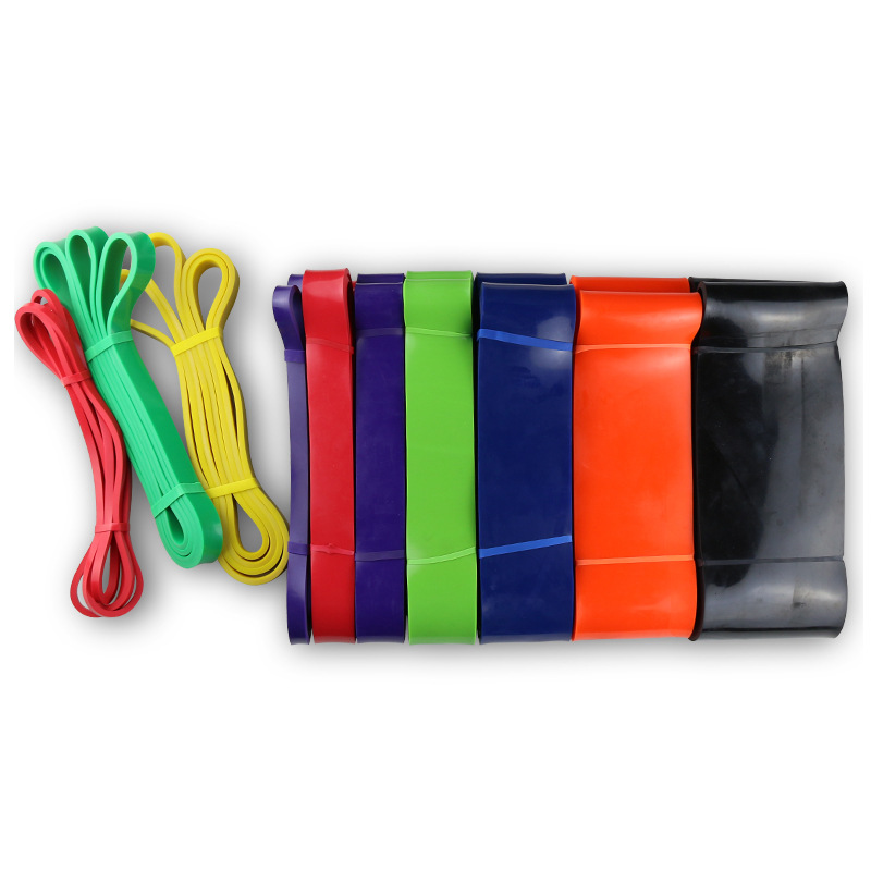 208cm Latex Pull Up Band Resistance Bands Fitness Body Gym Power Training Powerlifting Band Unisex Sports Nature Rubber