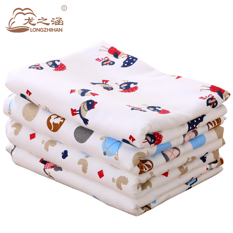 Baby Sheets Cotton 110*160cm Soft Newborn Baby Bed Sheet ...
