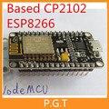 1 шт./лот NodeMcu Lua WI-FI Интернет вещей доска развития на основе CP2102 ESP8266 esp-12e для arduino
