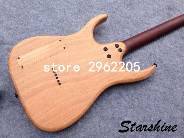 Starhine 7 string electric guitar mahogany body  rosewood fingerboard good quality Free shipping  2