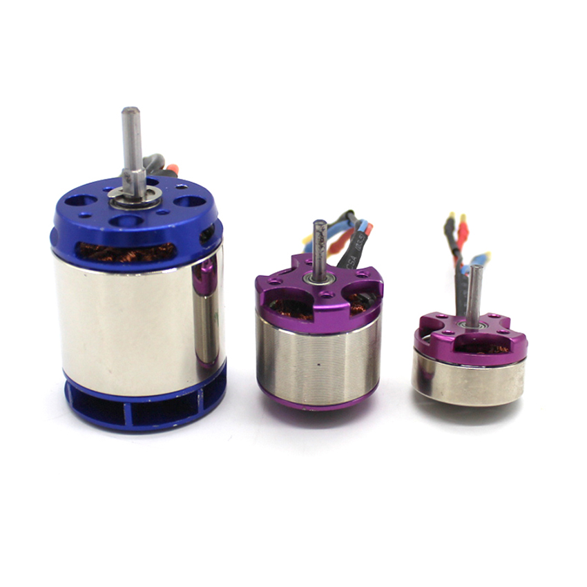 Brushless Motor 6V Purple/Blue FIRE 1pc Motor For FPV QAV250 RC Drone Quadcopter Multirotor DIY Motor Accessories