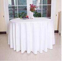 Большой Размеры полиэстер круглый прямоугольный 100% полиэстер покрытие стола Свадебные Скатерть party крышка стол обеденный стол Лен