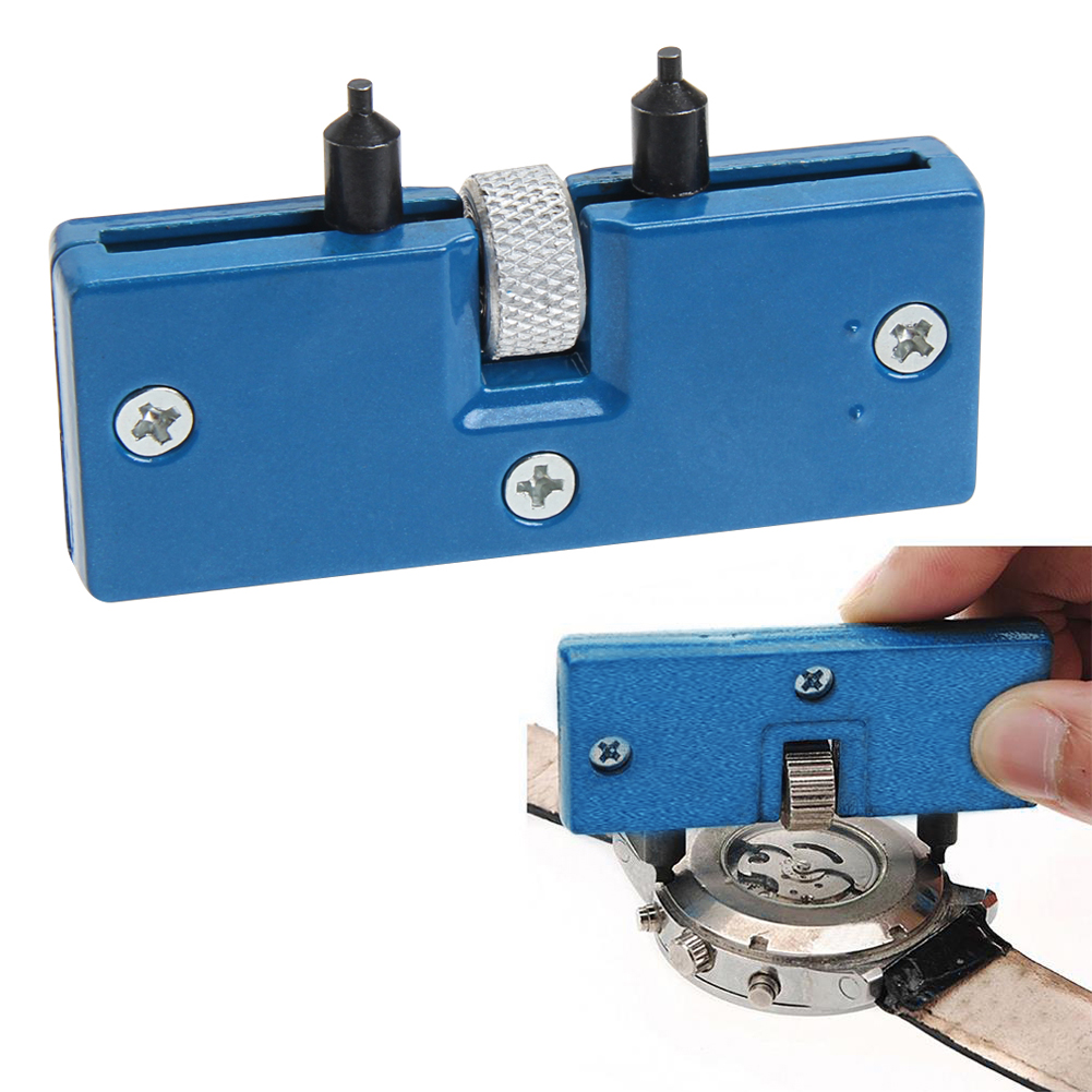 Watch Adjustable Opener Back Case Press Closer Remover Repair Watchmaker  Tool Two claw open watch Wrench Repair Kit Tool