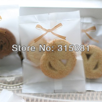 Brown For You Ribbon Cookie Bags Gift Wrap Wedding