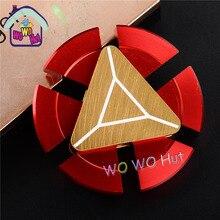 ร้อนขายEDCของเล่นสามเหลี่ยมมือปั่นorqbarโลหะมืออาชีพอยู่ไม่สุขปินเนอร์ออทิสติกและสมาธิสั้นมือปั่นรอบ