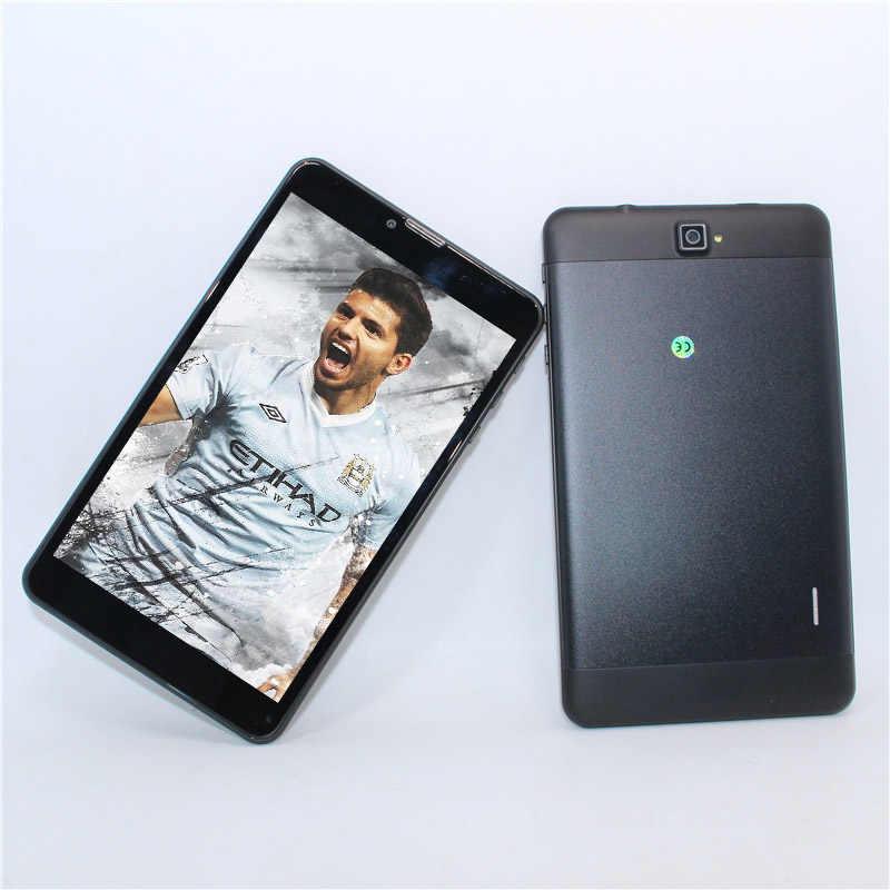 شاشة IPS جديدة عالية الجودة 7 بوصة MTK7731 3G مكالمة هاتفية كمبيوتر لوحي رباعي النواة 1GB/16GB أندرويد 5.1 نظام تحديد المواقع FM 800*1280 جودة عالية