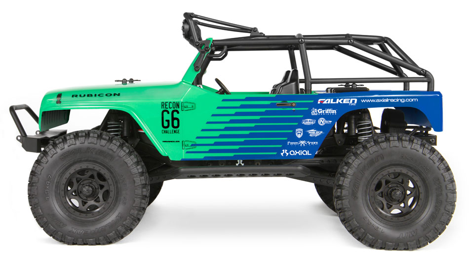 Axial Racing SCX10 Jeep Wrangler G6 Falken 4WD RTR Rock Crawler Truck AXIAX90036 fast shipping willys jeep 1 10