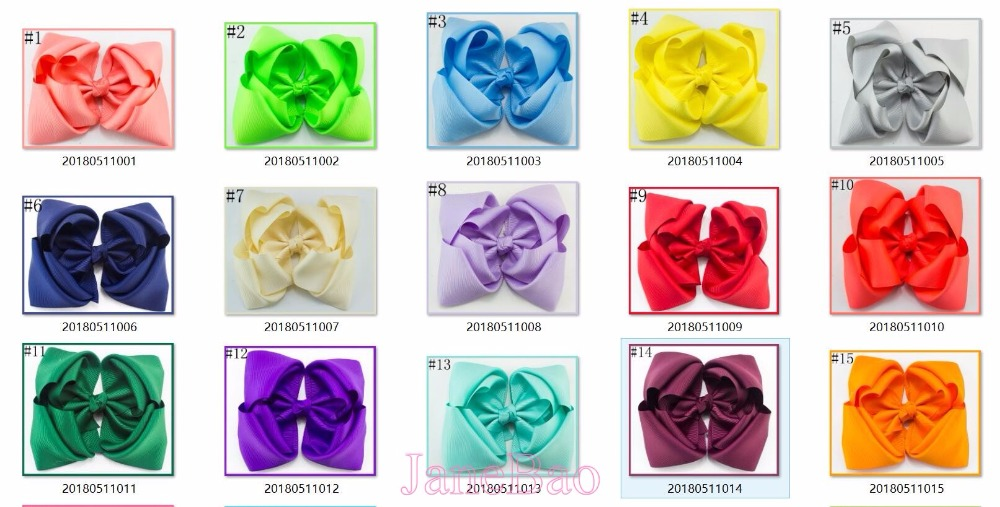 free shipping 50pcs 7 8 double layered boutique hair bows stacked ABC hair bows girl hair
